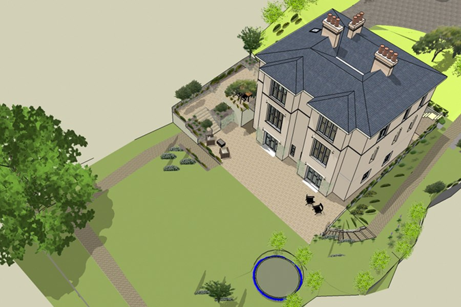 3D design restoration landscape design cork