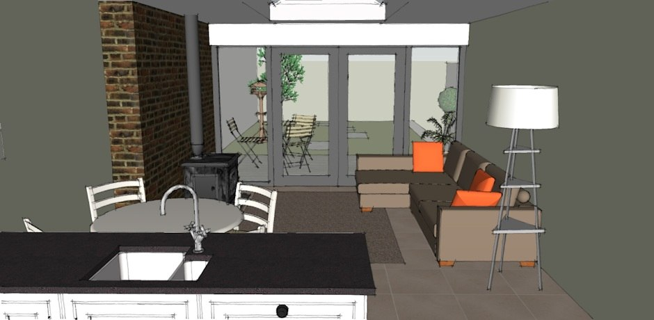 ground floor house extension
