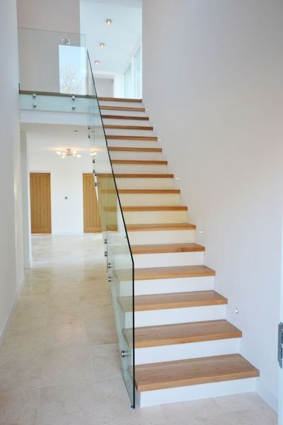 Completed staircase by Linehan Construction