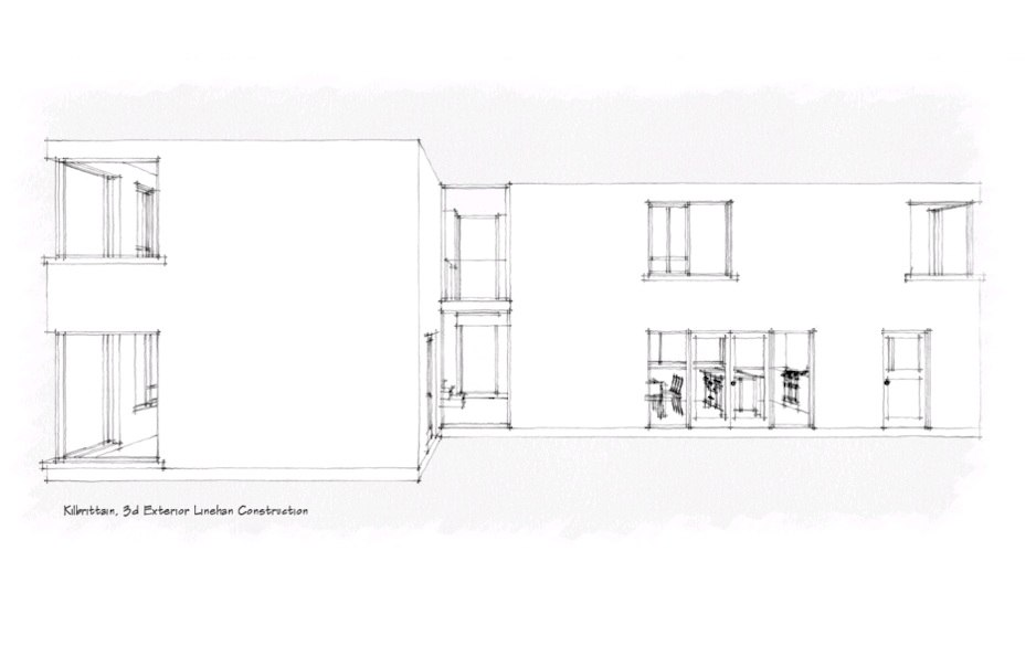 new build house drawing