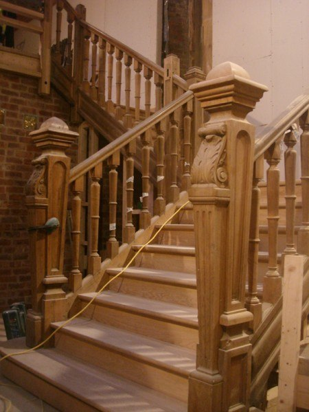 Reclaimed staircase