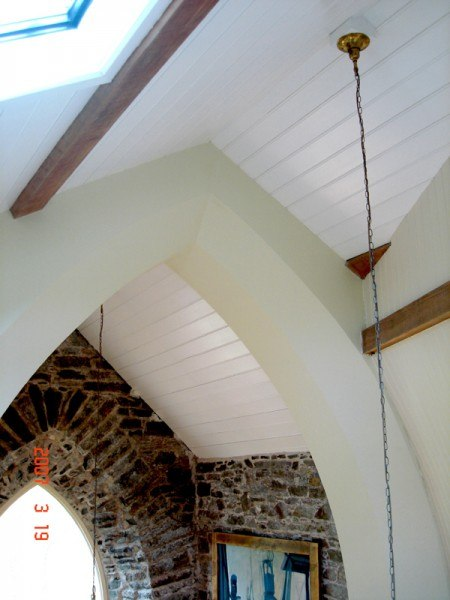 Cast iron roof trusses